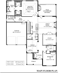 four bedroom house plans by rosewood home builders custom house