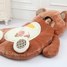 Sofa Bed Amazon by Amazon Com Memorecool Cute Cartoon Bear Sleeping Bag Boys And