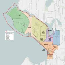 West Seattle Neighborhood Map by File Seattle City Council District 7 Neighborhoods Png Wikimedia