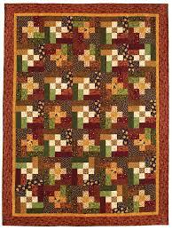 cozy bear quilt featuring an easy quilt block from fons u0026 porter