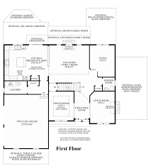 Family Room Addition Floor Plans by Greenville Overlook The Ellsworth Home Design