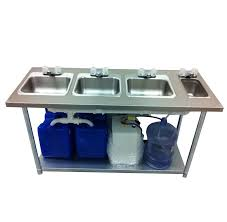 Portable Sink Depot Portable Sink Stainless Steel  Compartment - Kitchen sink portable