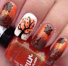 nail for thanksgiving 20 fantastic nail designs for thanksgiving styles weekly
