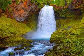 Oregon Waterfalls Map by 10 Waterfalls In Oregon That U0027ll Get You Really Wet