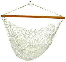 hanging nylon net chair modern hammocks and swing chairs by