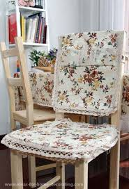 Dining Room Chair Seat Covers Wonderful Emejing Dining Room Chair Covers Pattern Pictures Home