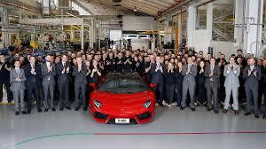 Lamborghini Aventador J Speedster - lamborghini aventador production hits 5 000 units