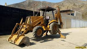maquinaria pesada excavadoras en mercado libre