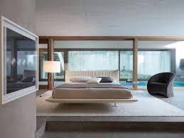 Suspended Bed Frame Bedroom Bed Frame With Attached Nightstands Floating Bed Frame