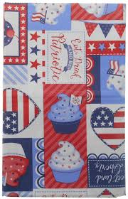 eat drink be patriotic americana cupcakes 4th of july vinyl