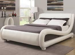 bedroom modern platform bed full wood bed frame queen platform