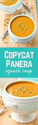 this copycat panera bread squash soup tastes just like the