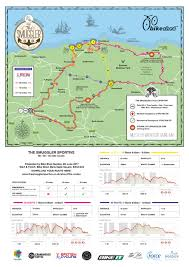 Route 40 Map by The Smuggler Sportive Four Route Maps The Smuggler