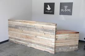 Reception Desk Wood Reclaimed Wood Reception Desk 1 This Is Our Amazing Reclai Flickr