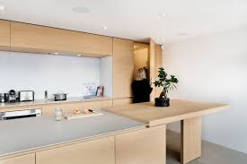 Kitchen Island Montreal Dazzling View Of Cityscape Minimal Penthouse Brings Downtown