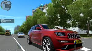 cars jeep grand cherokee city car driving 1 4 0 jeep grand cherokee srt 8 2012 1080p