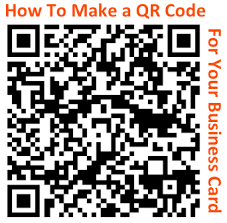 Should I Put A Qr Code On My Business Card How To Make A Trackable Qr Code For Your Business Card And Other