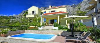 house with pool makarska holiday house with pool rent villa zdenka