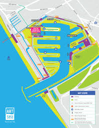 Ups Route Map by Artsea A Beachfront Pop Up Art Fair Is Set To Take Over Marina