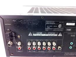 kenwood home theater receiver kenwood audio receiver ar 404 subwoofer port and 50 similar items