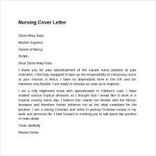 rn cover letter example of nursing cover letter for resume