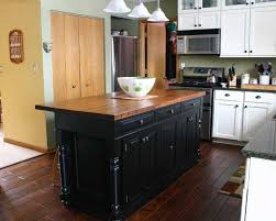 black kitchen island with butcher block top charming butcher block kitchen island design ideas home interior