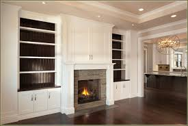 White Electric Fireplace With Bookcase by Accessories Diy Built In Bookshelves Around Fireplace Models Diy