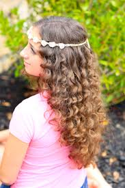 hairstyles for day old curls how to create no heat paper towel curls cute girls hairstyles