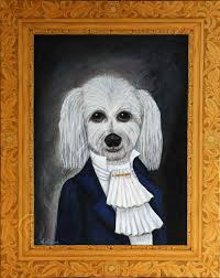 painting of dog painting of dog