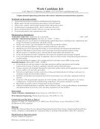 Resume For National Honor Society Example Resume Of Industrial Engineering Augustais