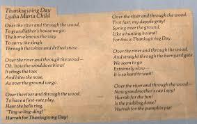 children thanksgiving songs elementary enrichment activities november 2009