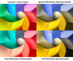 Blue Yellow Color Blind Simulation Of Different Color Deficiencies Color Blindnes U2026 Flickr