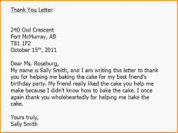 write thank you letters