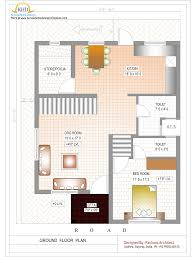 stunning 3 bhk simple home map in 1500 sq feet and house foot