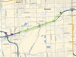 detroit metro airport map brace yourself roadwork on i 94 near detroit metro airport to