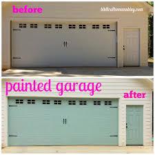Garage Door Curb Appeal - project curb appeal garage door before and after biblical