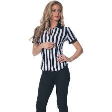 party city teenage halloween costumes referee shirt halloween costume walmart com