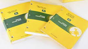 john deere technical manuals lot of 7 l26 davenport 2016