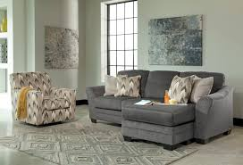 Charcoal Living Room Furniture Signature Design By Ashley Braxlin Charcoal 2 Piece Living Room