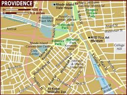 map usa rhode island map of providence
