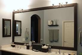 mirror wonderful framed bathroom mirrors ideas diy bathroom