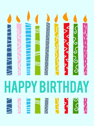 birthday candle lively birthday candle card birthday greeting cards by davia