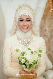 tutorial hijab syar i untuk pernikahan pin by hardini utami on wedplan pinterest muslim wedding dress
