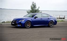 lexus isf exhaust australia 2016 lexus gs f review video performancedrive