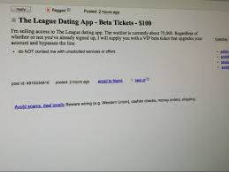 Craigslist Flagged For Removal League App Vip Pass On Craigslist Business Insider