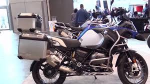 bmw gs series 2018 bmw r1200gs adventure special series lookaround le moto