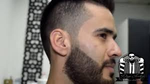 high fade combover haircut with hair dye beard dye and fix youtube