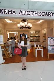 Lipgloss Erha erha apothecary store visit and product reviews sponsored pink
