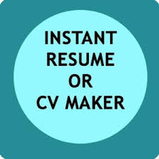 Resume Cv Maker Instant Resume Cv Maker Free Android Apps On Google Play