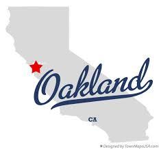 california map oakland map of oakland ca california